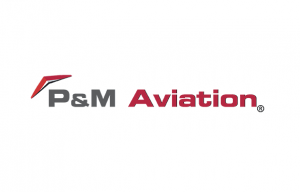 P &M Aviation logo