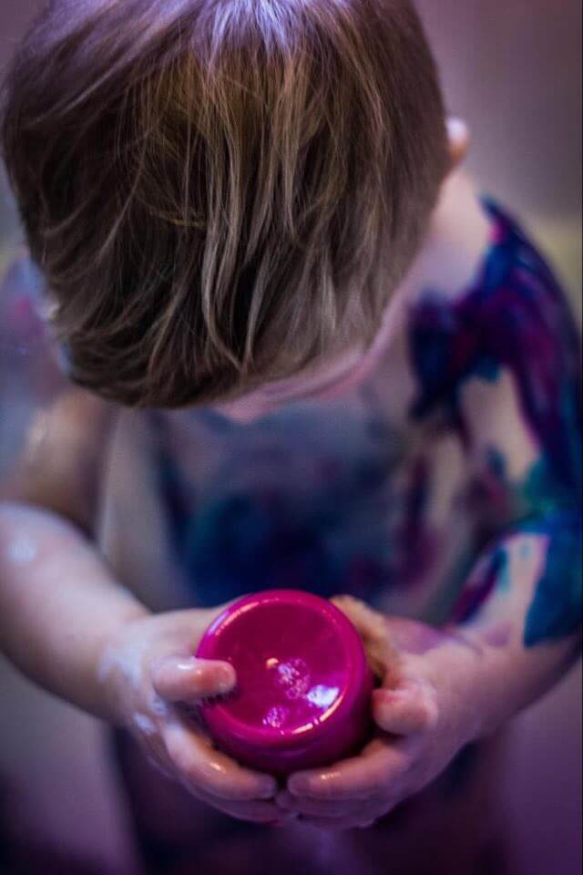 Messy play activities for kids at home are a great way to develop fine motor skills