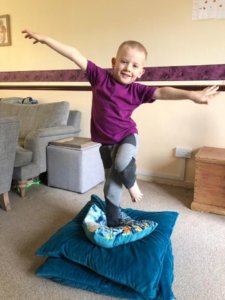 Core stability exercises for children with all disabilities