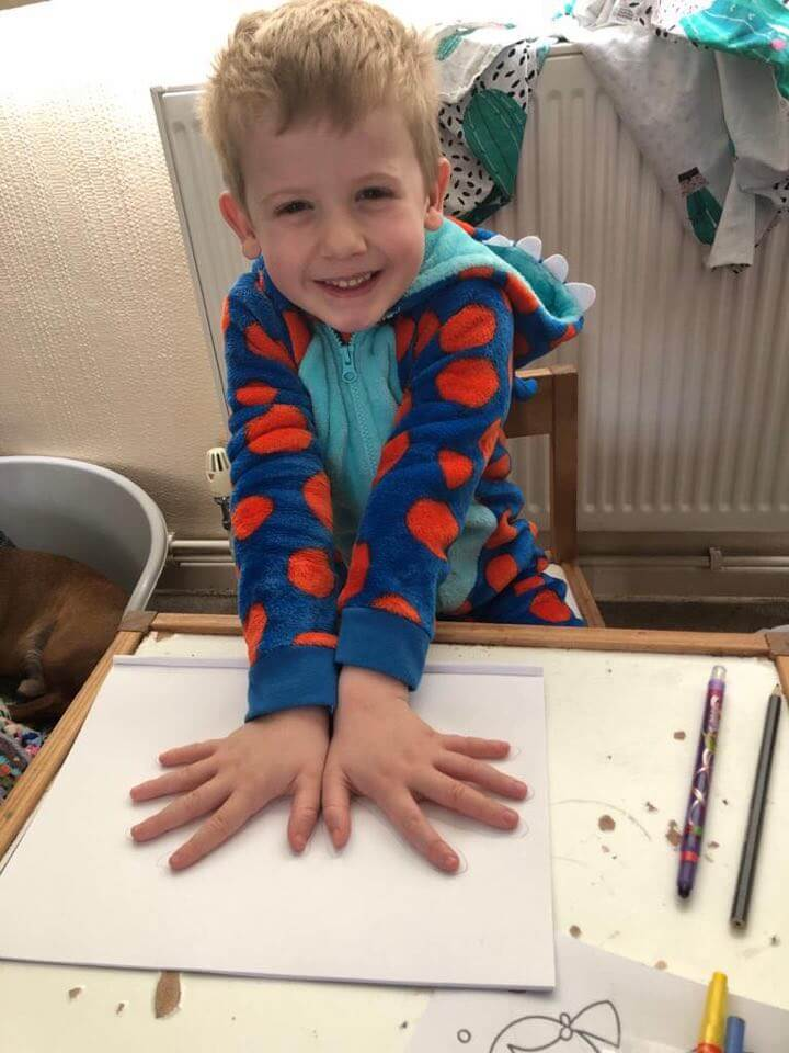 Shoulder, hand and finger strengthening activities for disabled children with behavioural and or sensory difficulties