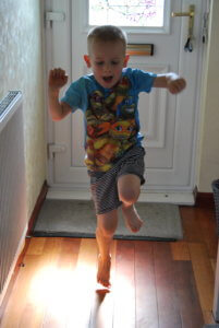 Home exercise for disabled children with behavioural and or sensory difficulties