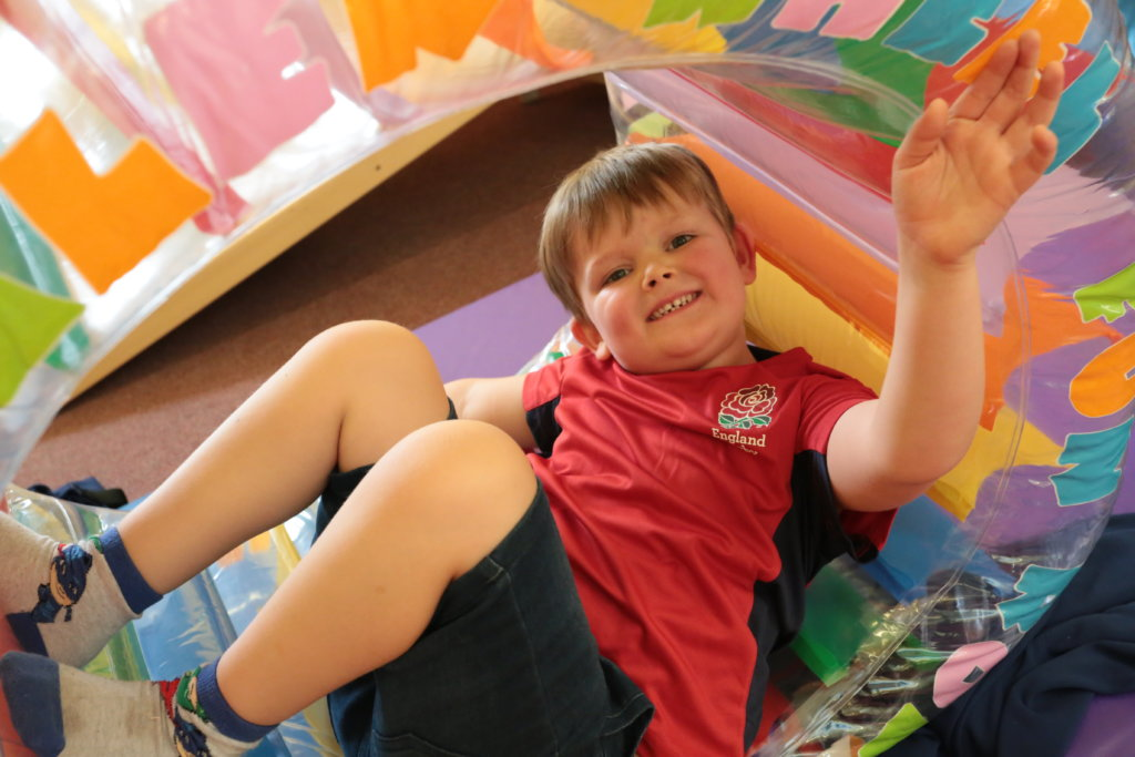 massage ideas for disabled children with behavioural or sensory difficulties