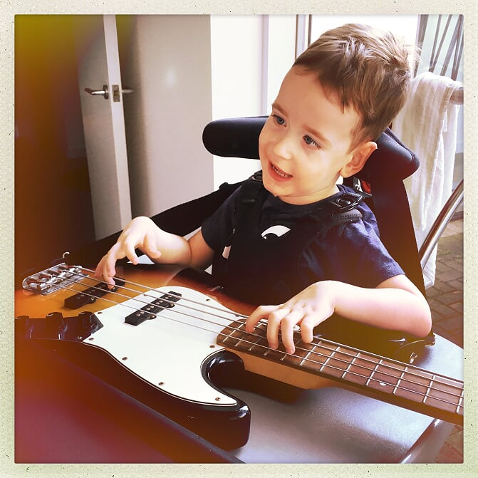 Playing musical instruments is great way to develop hand, wrist and arm strength