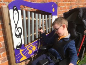 Musical toys are a great way to develop hand eye coordination