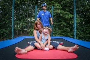 Trampolining is a fully inclusive activity that you can do at home
