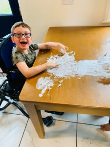 There are so many fun activities that incorporate messy play!