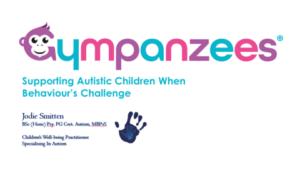 Autism and behaviour zoom webinar