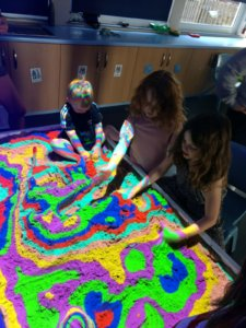 Sensory fun for children with disabilities