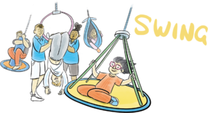 Gympanzees Swing