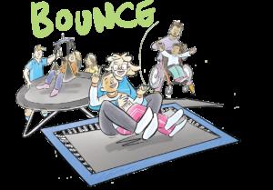 Gympanzees Bounce
