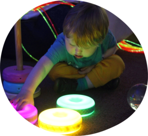 Play ideas for children who have sensory processing needs.