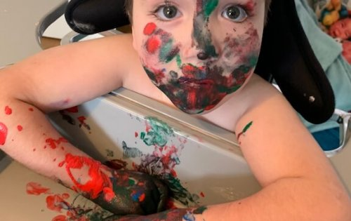 Messy play ideas for children with any disability
