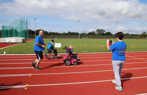 Powered wheelchair mobility training and exercises